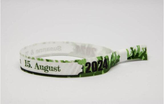 Festivalarmbänder - Grün