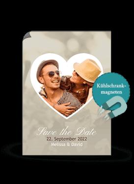 Hochzeitskarte - Herzbild