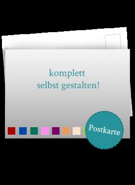 Save the Date Postkarte selbst gestalten