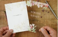Acrylglas Einladung | Flowers of Love