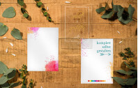 Acrylkarte selbst gestalten
