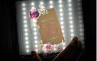 Acrylkartenset Aquarell Bouquet