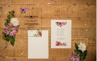 Hochzeitseinladung aus Acryl - Transparente Liebe