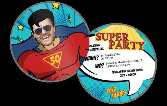 Superheld – Bieruntersetzer