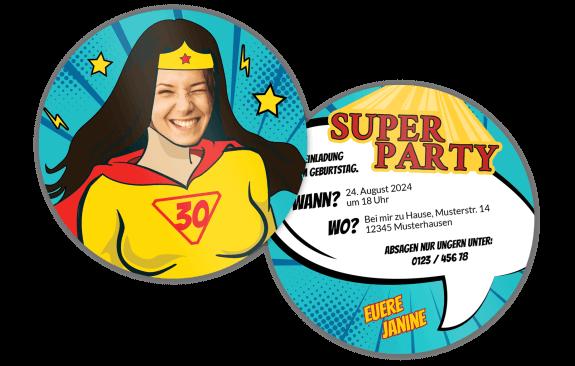 Superheldin – Bieruntersetzer