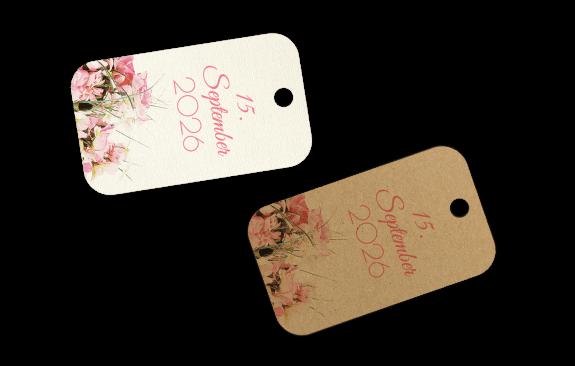 Vintageblumen - Anhänger