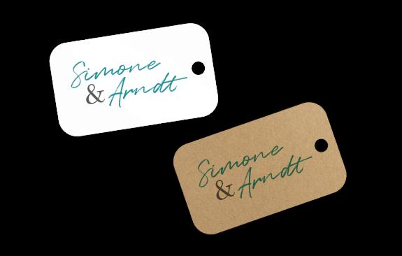 Anhänger - Hochzeit Namen
