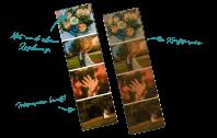 Diastreifen große Bilder