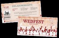 Festivalticket Einladung