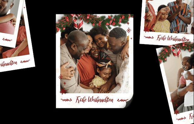 15 Retro Bilder Magneten - Weihnachtszauber