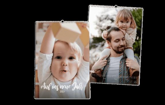 Auf ins neue Jahr | Wandkalender DIN A4