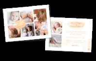 Farbklecks Geburtskarte