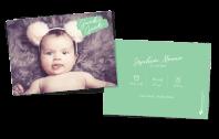Guck Guck - Babykarte