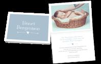 Herz ausfüllen Geburtskarte