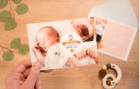 Babyfuchs - Karte zur Geburt