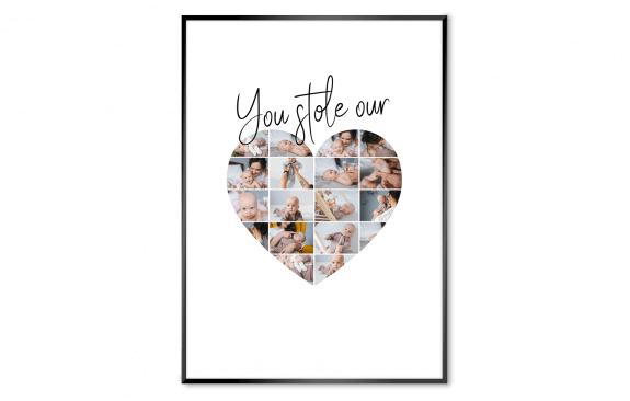 You stole our heart - Poster