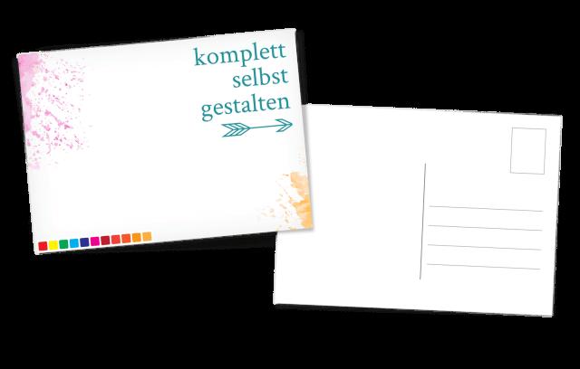 Oster-Postkarte selbst gestalten