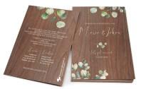 Eukalyptus Holzkarte