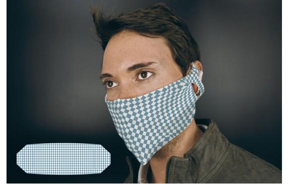 """Bayrische Mund-Nasen-Maske """"Raute"""""""