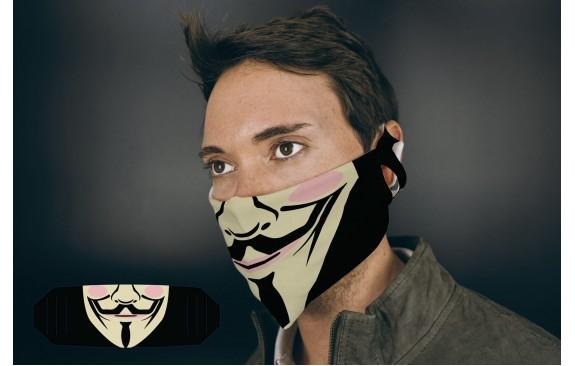 "Stoffmaske ""Maskerade"""
