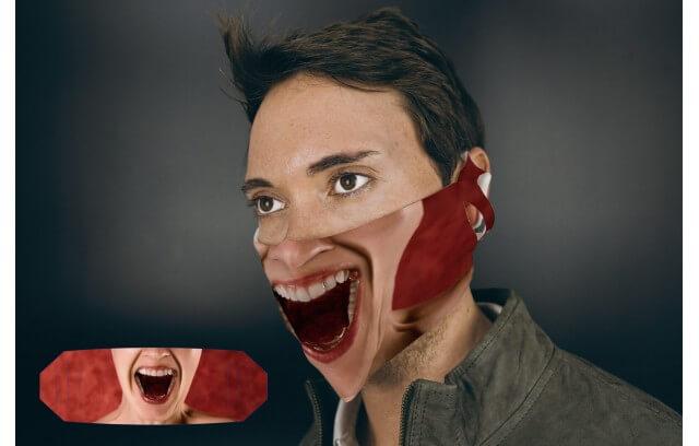 "Stoffmaske ""Scream"""