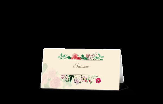 "Tischkarten Vintage ""Weddingtimeline"""