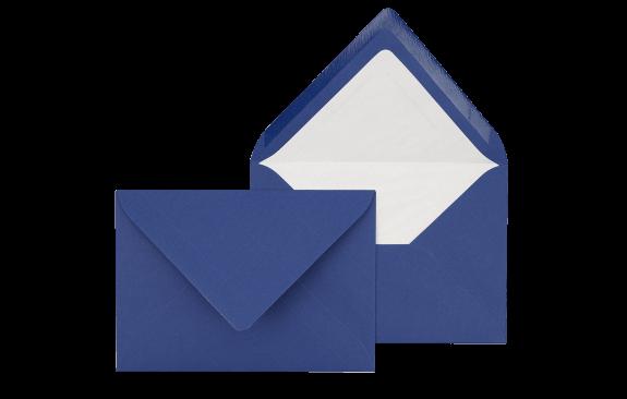 Briefumschlag Königsblau C6 - für Einladungskarten