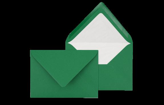 Briefumschlag Tannengrün B6 - für Einladungskarten
